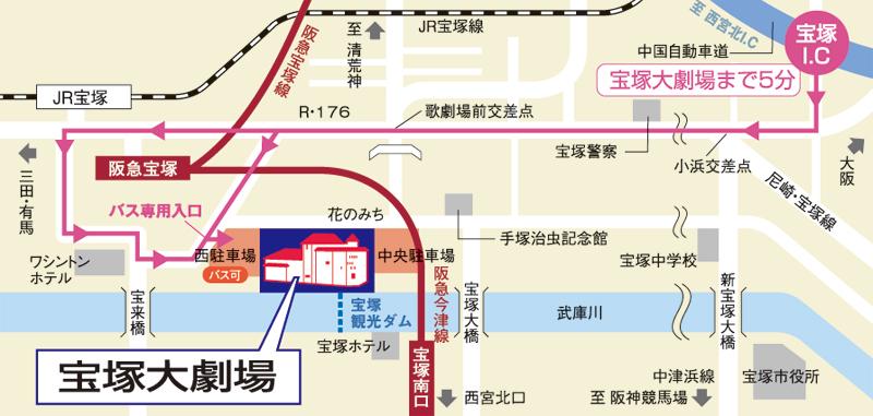 大劇場マップ